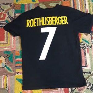 Nike Pittsburg Steelers Ben Roethlisberger T Shirt